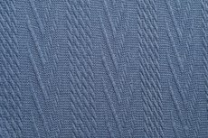 Knitted Jacquard Cable Old Blue