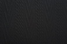 Knitted Jacquard Cable Black