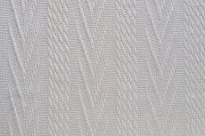 Knitted Jacquard Cable Off White