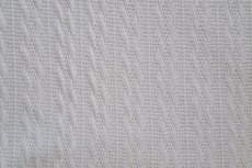 Knitted Jacquard Small Cable Off White