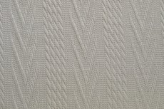 Knitted Jacquard Cable Beige/Creme
