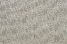Knitted Jacquard Small Cable Beige/Creme