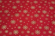Christmas Cotton Snow Red 10