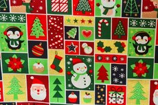 Christmas Cotton All Over Multi 12