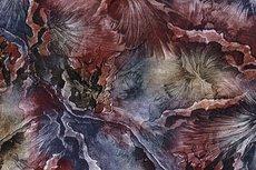 Punta Abstract Shapes Bordeaux