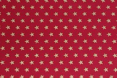 Christmas Cotton Little Star Red
