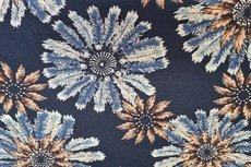 Punta Feather-Flower Indigo