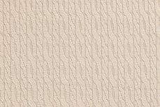 Knitted Cotton Jacquard Cable Beige