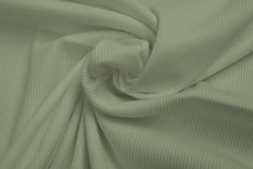 Rib Tricot Mint Groen
