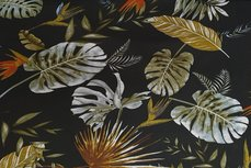 Punta Flowers Black