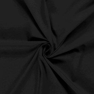 Katoen Tricot Effen Zwart