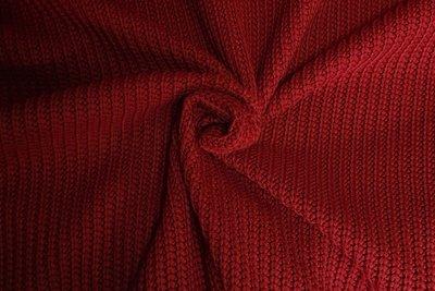 Big Knit Warm Red