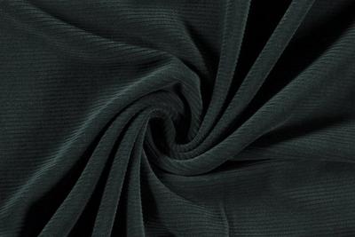 Fine Corduroy Jersey Dark Green